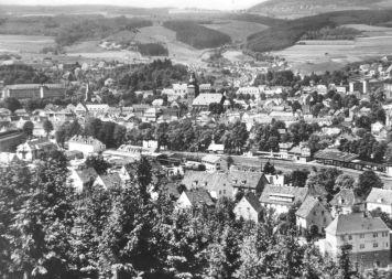 Stadtansicht vom Arnsbeul - Anfang/Mitte der 50er